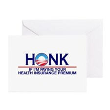 Honk Health Insurance Greeting Cards (Pk of 10)