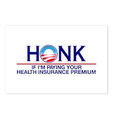 Honk Health Insurance Postcards (Package of 8)