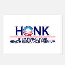 Honk Health Insurance Postcards (Package of 8)