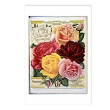 Henderson's Famous Roses Postcards (Package of 8)