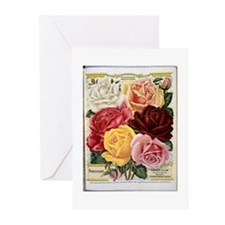 Henderson's Famous Roses Greeting Cards (Pk of 10)