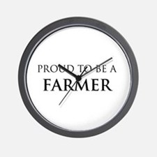 Proud Farmer Wall Clock