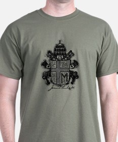 Pope John Paul II Coat of Arms T-Shirt