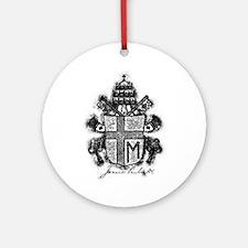 Pope John Paul II Coat of Arms Ornament (Round)