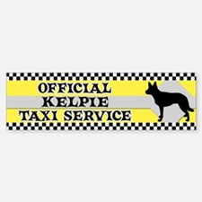 Official Kelpie Taxi Bumper Bumper Bumper Sticker