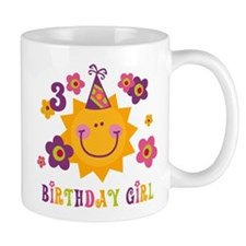 Sun 3rd Birthday Mug