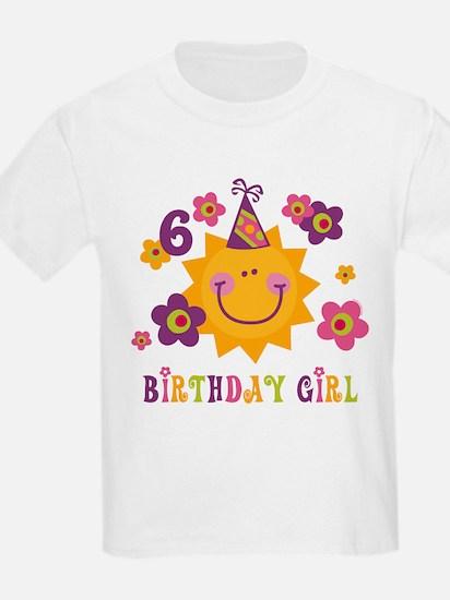 Sun 6th Birthday T-Shirt