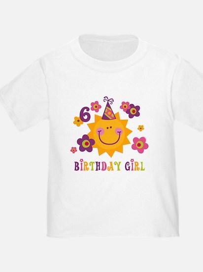 Sun 6th Birthday T