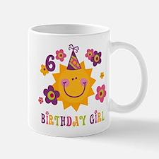 Sun 6th Birthday Mug