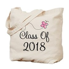 Sweet Pink Class Of 2018 Tote Bag