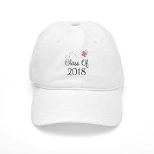 Sweet Pink Class Of 2018 Baseball Cap