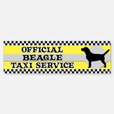Official Beagle Taxi Bumper Bumper Bumper Sticker