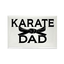 Cute Karate black belt Rectangle Magnet