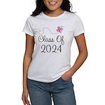Sweet Pink Class Of 2024 Women's T-Shirt