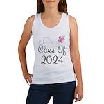 Sweet Pink Class Of 2024 Women's Tank Top