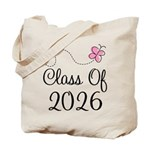 Pink Class Of 2026 Tote Bag