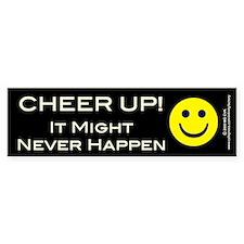 Cheer Up V2 Bumper Bumper Sticker