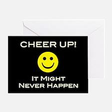 Cheer Up V2 Greeting Card