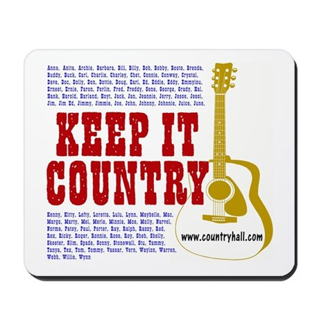 Keep It Country #101 Mousepad