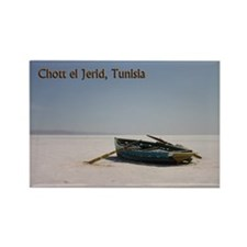 Chott El Djerid Tunisia Rectangle Magnet