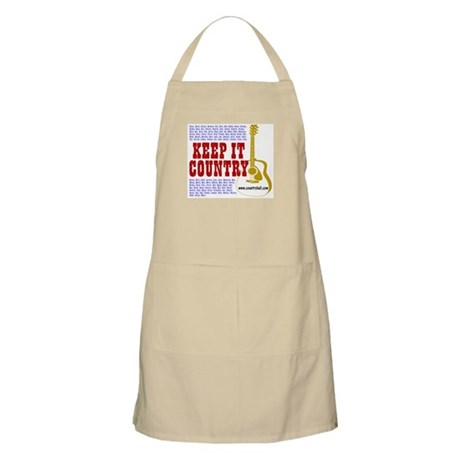 Keep It Country #101 BBQ Apron