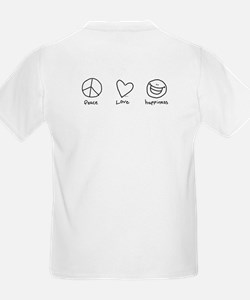 Peace Sign Doodle Kids T-Shirt