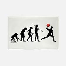Dodgeball Evolution Rectangle Magnet (10 pack)