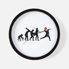 Dodgeball Evolution Wall Clock