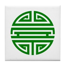 Green Shou Tile Coaster