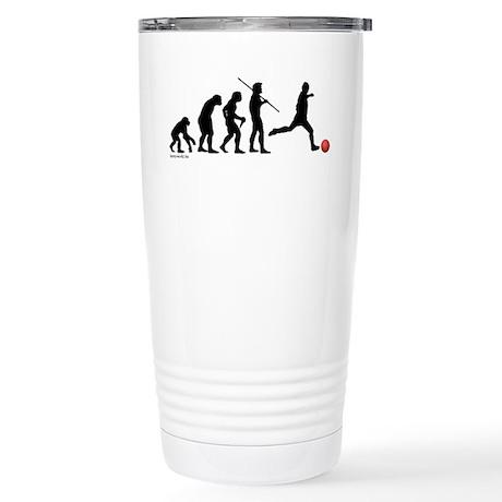 Kickball Evolution Stainless Steel Travel Mug