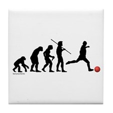 Kickball Evolution Tile Coaster