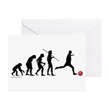 Kickball Evolution Greeting Cards (Pk of 20)