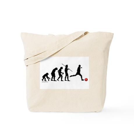 Kickball Evolution Tote Bag