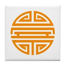 Orange Shou Tile Coaster
