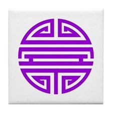 Purple Shou Tile Coaster
