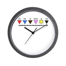 And When They Came Wall Clock