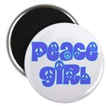 Peace Girl Magnet
