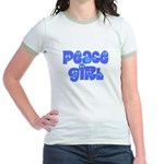Peace Girl Jr. Ringer T-Shirt