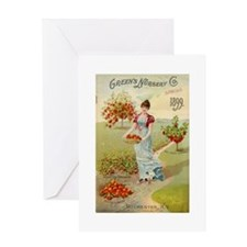 Green Nursery 1899 Greeting Card