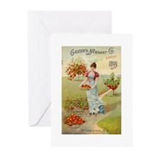 Green Nursery 1899 Greeting Cards (Pk of 10)