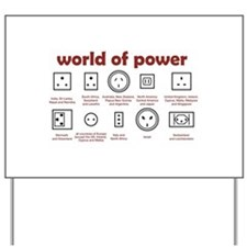 World of Power Yard Sign