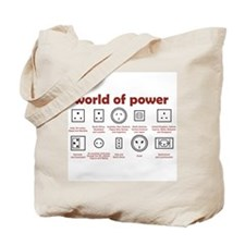 World of Power Tote Bag