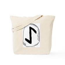 Viking Rune Eihwaz Tote Bag