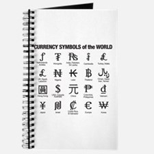 World Currency Symbols Journal