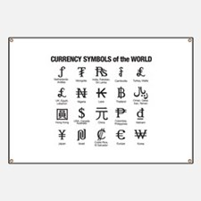 World Currency Symbols Banner