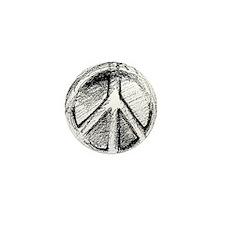 Urban Peace Sign Sketch Mini Button (10 pack)