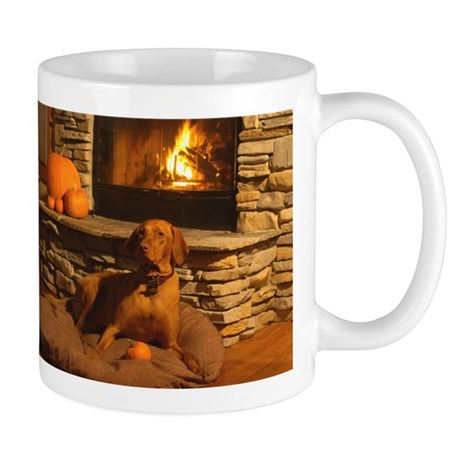 By the fire Mugs