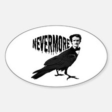 Nevermore Oval Decal