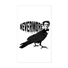 Nevermore Rectangle Decal