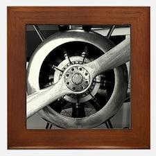 Planes Framed Tile